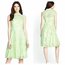 Definitions Size 18 Simply Fab Mint Lace Shirt DRESS Party Occasion New Be £74