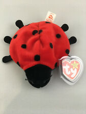 Lucky style 4040 Ladybug - Ty Beanie Baby with Tag Errors/Oddities