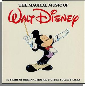 The Magical Music of Walt Disney - 4 LP's Box Set of Movie Songs! New & Sealed!