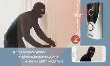 WiFi Door Bells Security Camera Recording (2 Ways Communication)