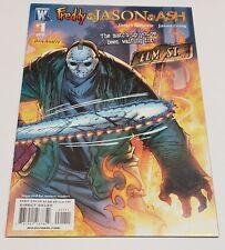 Freddy Vs Jason Vs Ash #1 J Scott Campbell Cover Wildstorm 2008 1st Print NM