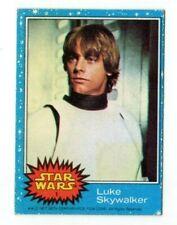 1977 Topps Star Wars Trading Card Luke Skywalker