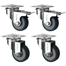 Heavy Duty Castor Wheel 50mm Furniture Trolley Caster - Pack Of 4