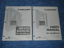 Speed Queen Air Conditioner Dy Models Parts Service Manual 1974 guide repair