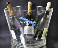 Champagne de Venoge 1837 Transparent Double Magnum Champagne Ice Bucket Cooler