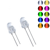 5mm Red /& Green Two Color LED Light Diode Fog Water Clear Stepless Dimming