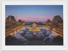 JR au Louvre - 29 Mars à 19h45 / Signed And Numbered Lithograph Print (sold out)