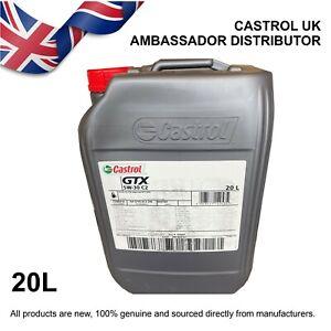 20L Castrol GTX 5w-30 5W30 C2 - PSA Approval B71 2290