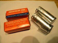 2 Sealed Agfa CNS Color Film 80ASA 120 Expired 11/1970