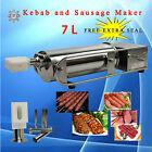 Stainless Steel TG 7L Koobideh Adana Kebab Maker Sausage Salami Filler Machine