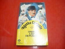 AGATHA CHRISTIE: I PRIMI CASI DI POIROT. OSCAR MONDADORI 1985 n.201018 GIALLI