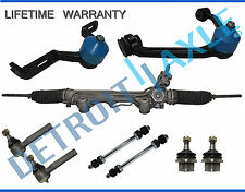 9pc Power Steering Rack and Pinion Suspension Kit for Ford Explorer - 2Pc Design