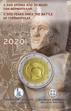"Greece 2 Euro Coincard 2020 "" Battle of Thermopylae - Leonidas - 300 Spartans """