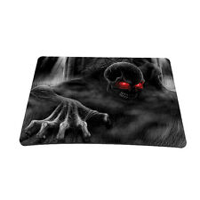 Soft Neoprene Notebook Laptop Optical Mouse Pad Dark Ghost Zhombie Skull  MP-10