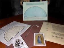 Dr. Ginnys Psychic Angel Guided Pendulum and CD Answer Kit With Free Chart!