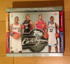 2008-09 Topps Co-Signers Basketball HOBBY Box 2 Auto Rose Russell Westbrook RC?