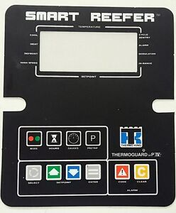 SMART REEFER Thermo King ThermoKing FACEPLATE OVERLAY STICKER MP4 MP6 UPVI UPIV