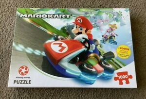 Winning Moves- Mario Kart Funracer (1000 Pieces Jigsaw Puzzle)