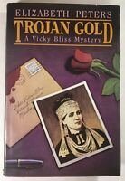 TROJAN GOLD By Elizabeth Peters - RARE 1ST EDITION - Hardcover - Mystery - 1987