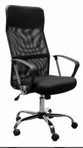 Brand New Carlos Plus High Back Mesh Operator Office Chair With Fixed Arms