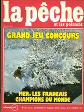 Revue  La pêche et les poissons No 427 Décembre 80
