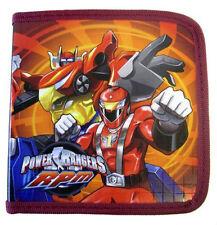 Power Rangers 24 CD DVD BLU-RAY Storage Carry Organizer Case NW