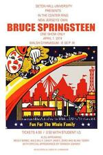 Bruce Springsteen Poster *Very Large* Live at Seton Hall 1974 w/ E Street Band