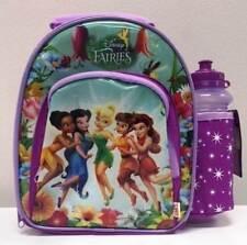 DISNEY PRINCESS FAIRIES KIDS INSULATED LUNCH BAG & DRINK BOTTLE ZAK DESIGNS
