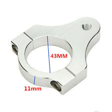 43mm Aluminium Steering Damper Fork Frame Mounting Clamp Bracket for Motorcycle