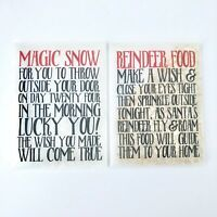 Magic Snow & Reindeer Food Christmas Eve Box Christmas Tradition Santa Dust Xmas
