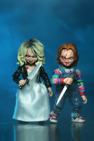 CHILD's PLAY: BRIDE of CHUCKY 2-PACK TIFFANY & CHUCKY 7″ Action Figure NECA