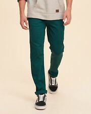 Hollister skinny fermeture éclair mouche chinos