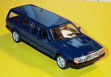 wonderful modelcar Volvo 760Gle Wagon Transfer 1989 - darkblue - 1/43 - lim.ed.