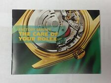 ROLEX Service Booklet USA