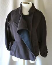 3.1 Phillip Lim Brown Cape Front Short Jacket Size 6
