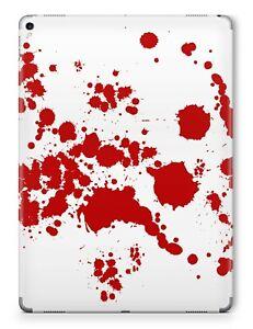 Apple iPad Skin Schutzfolie Aufkleber Design Sticker Vinyl Folie Skins Blood