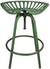 Esschert Design Traktorstuhl Vert Tabouret de Bar Chaise Jardin Vintage