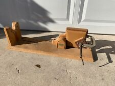 Decker Shooting Products Wood & Leather Rifle Rest & Vice - 30