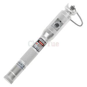 Silver Metal 30mv Visual Fault Locator Fiber Optic Pen Red Light Source 30KM VFL