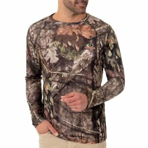 Men's Mossy Oak Break-Up Country L/S Bug Repellent Tee Shirt Sizes: Medium - 3XL