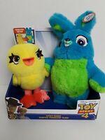 Disney Pixar Toy Story 4 Movie Ducky Bunny Scented Friendship Plush NEW