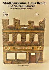 Neu Für Diorama Nr.1769 schöne Stadthausruine1 - 1:35 komplett aus Resin