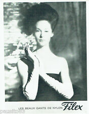 PUBLICITE ADVERTISING 096  1963  Gants Nylon Filex