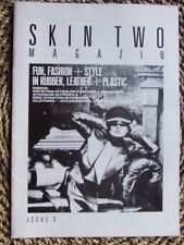 """Skin Two No 3"".  1984. Fetish Fashion, Fun & Games. Latex, Leather etc."