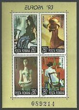 Mint Never Hinged/MNH Art, Artists Romanian Stamps