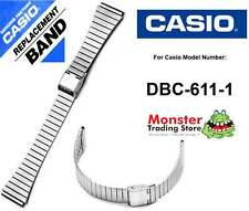 REPLACEMENT CASIO WATCH BAND ORIGINAL ONLY FITS: DBC-611-1A