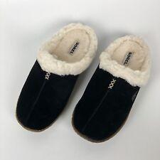 New Sorel Womens Size 6 37 Nakiska Slide Slippers Black fossil open back NIB