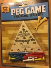 Peg Board Travel Game - Great Table or Travel Game for Hours of Fun!