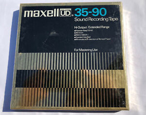 Maxell UD 35-90 Sound Recording Tape High-Output Extended Range