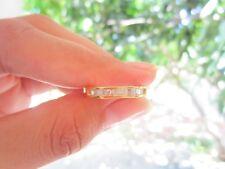 .36 Carat Diamond Yellow Gold Half Eternity Ring 14k codeHE14 sepvergara